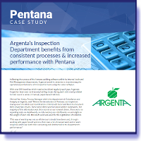 Argenta - Inspection increases performance by using Pentana