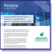 Argenta - Benefits from auditing with Pentana